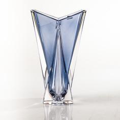 Ваза Crystalite Bohemia Оригами 32 см