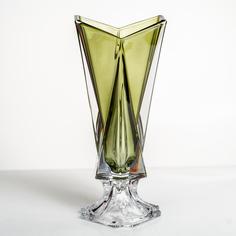 Ваза Crystalite Bohemia Оригами 40,5 см