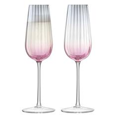 Набор бокалов-флейт LSA international Dusk для шампанского 0,25 л