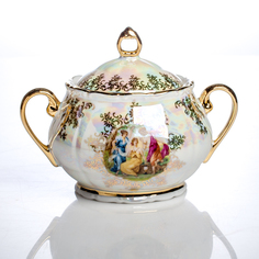 Сахарница Porcelaine Czech Gold Hands 400 мл