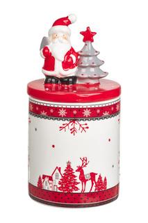 "Ваза с крышкой ""Дед мороз"" DUE ESSE CHRISTMAS"