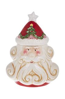 Ваза с крышкой DUE ESSE CHRISTMAS
