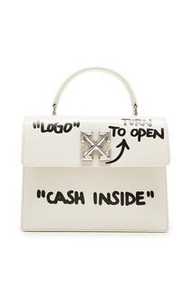 Компактная сумка с принтом 2.8 Jitney bag Off White