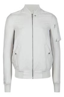 Серая куртка «в рубчик» Rick Owens
