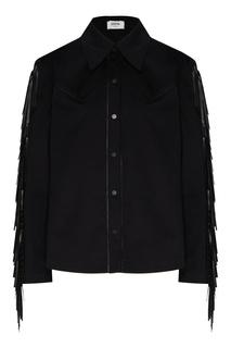 Рубашка в стиле вестерн с бахромой Izeta