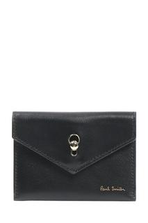 Миниатюрное портмоне черного цвета Paul Smith