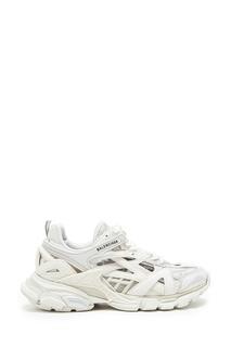 Белые комбинированные кроссовки Track 2 Balenciaga