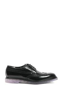 Черные кожаные броги Paul Smith