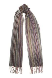 Шарф в разноцветную полоску Paul Smith