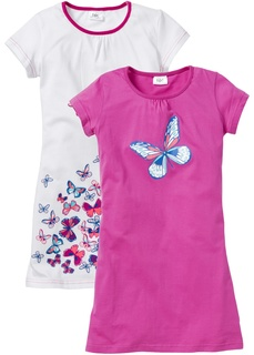 Пижамы и ночные сорочки Ночная рубашка (2 шт.) Bonprix