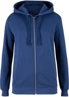 Толстовки Куртка из трикотажа с капюшоном Bonprix