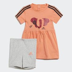 Комплект: футболка и шорты Summer adidas Performance