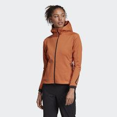 Флисовая куртка Climaheat Hooded adidas TERREX