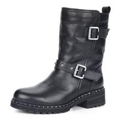 Высокие ботинки из кожи с ремешками Respect