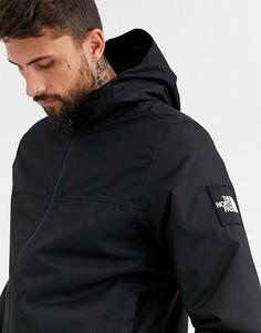 Черная утепленная куртка The North Face Mountain Q