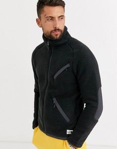 Черная флисовая куртка The North Face - Cragmont