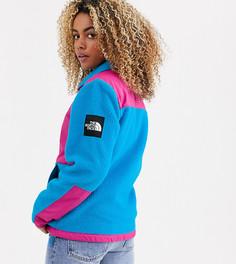Сине-розовая флисовая куртка The North Face Denali