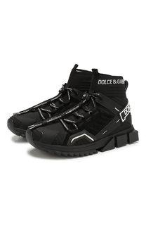 Комбинированные кроссовки Sorrento Dolce & Gabbana