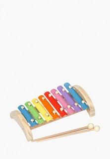 Игрушка интерактивная Игрушки из дерева Ксилофон 8 тонов (металлический)