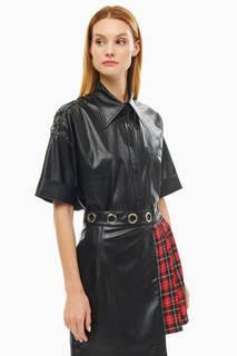 Рубашка RU14LD черный Polunina