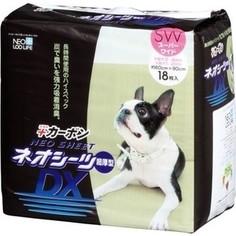 Впитывающие пеленки Neo Loo Life Neo Sheet DX с активированным углем 60х90см для домашних животных 18шт