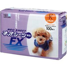 Впитывающие пеленки Neo Loo Life Neo Sheet FX тонкие 32х44см для домашних животных 100шт