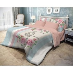 Комплект постельного белья Волшебная ночь евро, ранфорс, Fluid (739280)