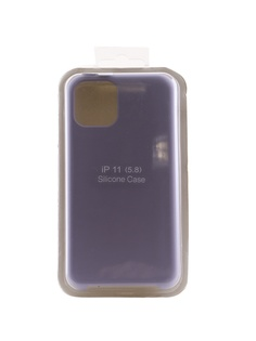 Аксессуар Чехол Innovation для APPLE iPhone 11 Pro Silicone Case Light Violet 16433