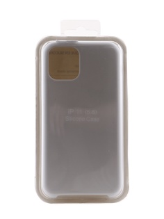 Аксессуар Чехол Innovation для APPLE iPhone 11 Pro Silicone Case White 16432