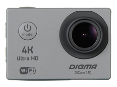 Экшн-камера Digma DiCam 410 Grey