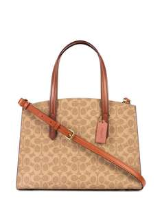Coach сумка с монограммой Charlie Carryall