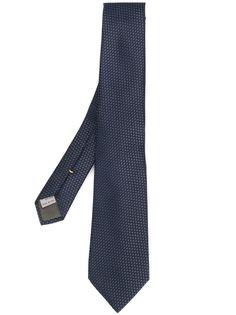 Canali галстук с узором Birds Eye