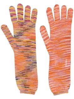 Missoni перчатки вязки интарсия