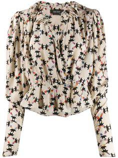 Isabel Marant блузка с принтом