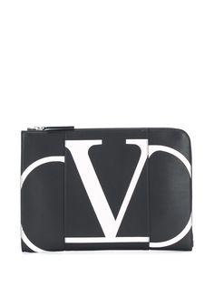 Valentino Garavani клатч с логотипом