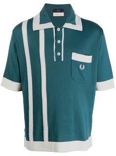 Fred Perry рубашка-поло с логотипом