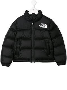 The North Face Kids куртка-пуховик в стиле колор-блок