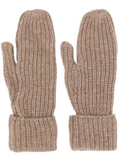 Wood Wood перчатки Elna в рубчик
