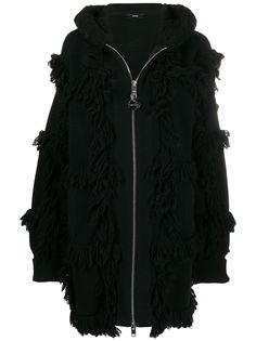 Diesel куртка на молнии с бахромой