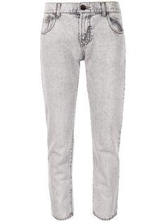 Emporio Armani прямые джинсы средней посадки