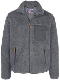 Best Made Company куртка на молнии с нашивками на локтях