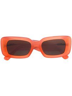 Linda Farrow солнцезащитные очки в прямоугольной оправе