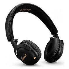 Наушники с микрофоном MARSHALL MID ANC, 3.5 мм/Bluetooth, накладные, черный [mrshlmidblknc04092138]