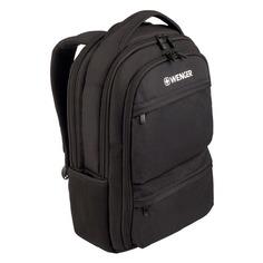 Рюкзак Wenger Fuse черный 600630 32x43x21см 16л.