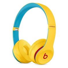 Наушники с микрофоном BEATS Solo3 Beats Club Collection, 3.5 мм/Bluetooth, накладные, желтый [mv8u2ee/a]