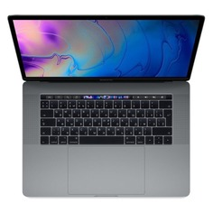"Ноутбук APPLE MacBook Pro MV912RU/A, 15.4"", IPS, Intel Core i7 2.3ГГц, 16Гб, 512Гб SSD, Radeon Pro 560X - 4096 Мб, macOS Mojave, MV912RU/A, серый космос"