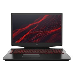 "Ноутбук HP Omen 17-cb0003ur, 17.3"", IPS, Intel Core i7 9750H 2.6ГГц, 16Гб, 1000Гб, 256Гб SSD, nVidia GeForce RTX 2070 - 8192 Мб, Windows 10, 6WL85EA, черный"