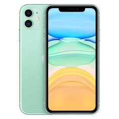 Смартфон APPLE iPhone 11 256Gb, MWMD2RU/A, зеленый
