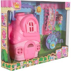Игровой набор Paula&Friends Кукольный домик