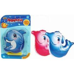Игрушка для ванны Наша Игрушка Дельфинчик-неваляшка,